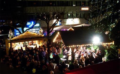 ...himmlische Chöre auf dem Heilbronner Weihnachtsmarkt