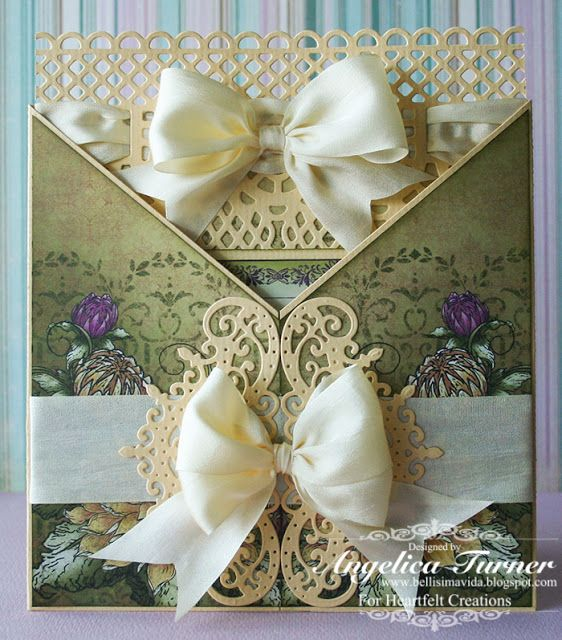 """Card made with """"Burst of Splendor"""" collection from Heartfelt Creations."""
