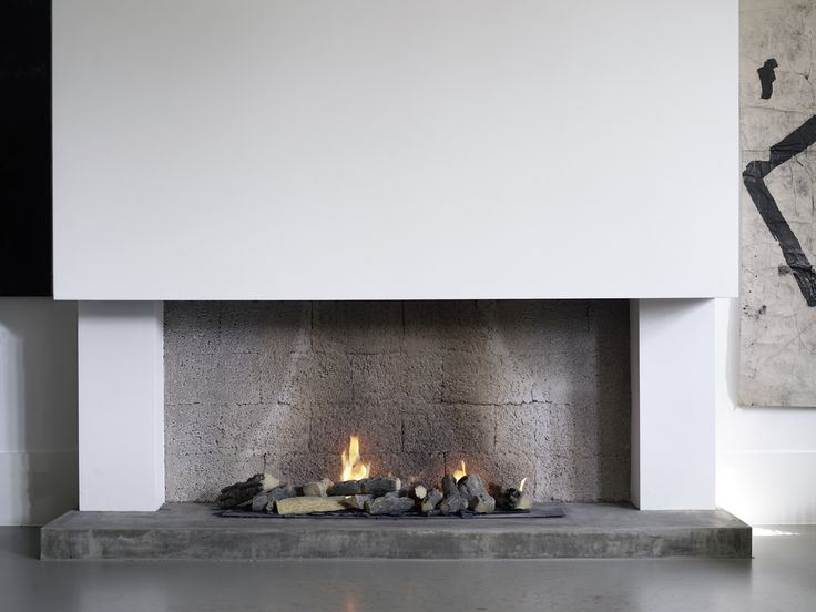Piet Boon Styling by Karin Meyn | Cosy fireplace, nature stones
