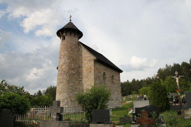 Slovakia - Kližské Hradište - Church