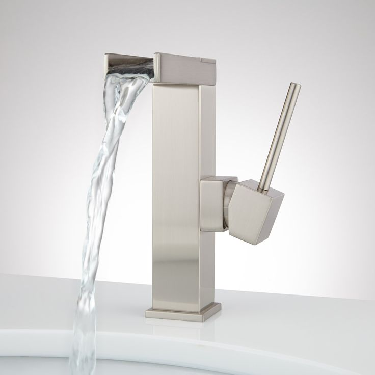 Xaiver Single Hole Waterfall Bathroom Faucet