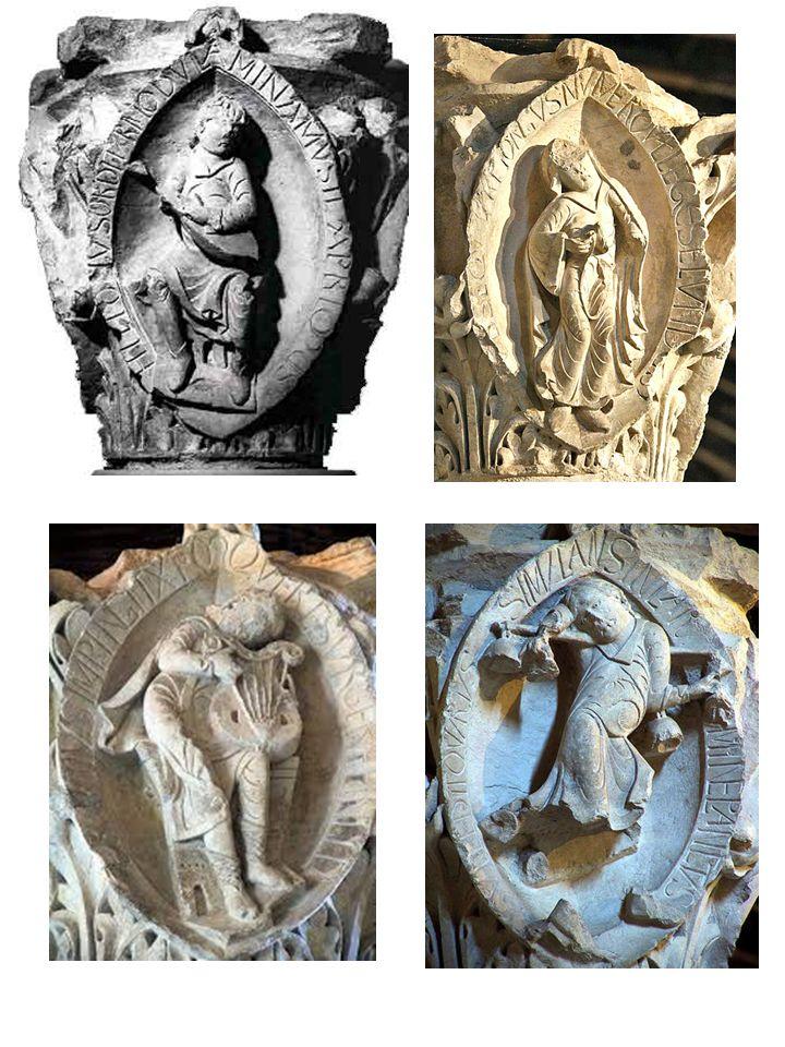 Los MODOS GREGORIANOS en los capiteles de la abadía de Cluny. La abadía de Cluny contiene uno de los ejemplos más famosos de ornamentación musical de la Edad Media, las ocho esculturas que representan los modos de la música. Consiste en escenas en las que aparecen personajes tañendo instrumentos o en actitud de danza. Están situados en el coro de la tercera iglesia construida en la abadía, denominada Cluny III, en cada lado de dos de los capiteles. Cluny creado en 909 un elemento singular…
