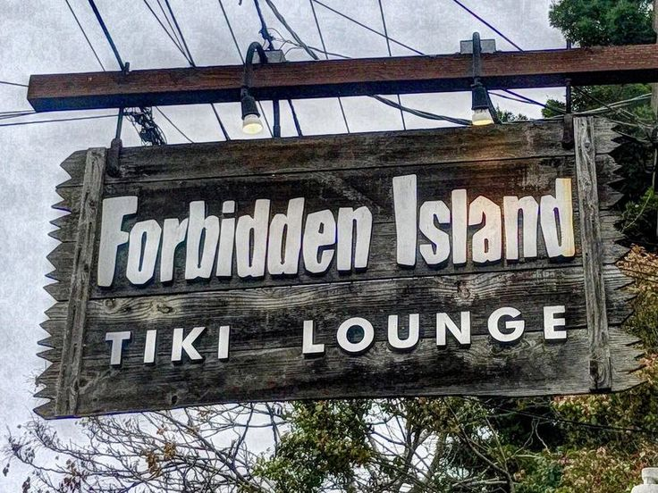 """Forbidden Island is a tiki bar on the island of Alameda just east of San Francisco. It opened in 2006, but it has the look and feel of a classic old tiki bar. The bar was the creation of Martin """"Martiki"""" Cate, a longtime tiki devotee, rum expert..."""