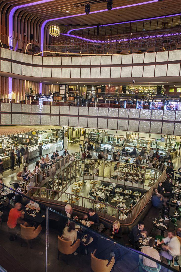 Un espacio de ocio gastronómico que te enamorará nada más entrar, 'Platea Madrid' Restaurantes, tapas, ...