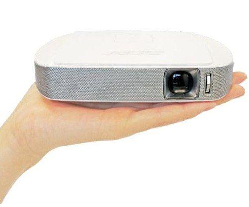 Nuevo mini proyector Acer para llevar a todas partes.