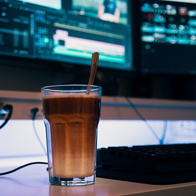 With great coffee comes great video editing