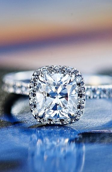 Perfect ring.Ideas, Wedding Ring, Cushions Cut, Diamonds Rings, Cushion Cut Diamonds, Jewelry, Dreams Rings, Future Wedding, Engagement Rings