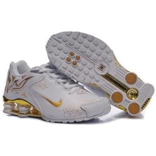 Find Women's Nike Shox Rch Shoes White/Gold/Brilliant Gold Cheap To Buy  online or in Pumaslides. Shop Top Brands and the latest styles Women's Nike  Shox Rch ...