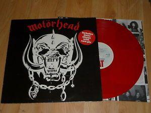 MOTORHEAD - Motorhead - RED VINYL LP  INNER - BIG BEAT WIK 2