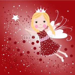 Peri Kızı Vektör Tasarımlarım * Christmas fairy vector