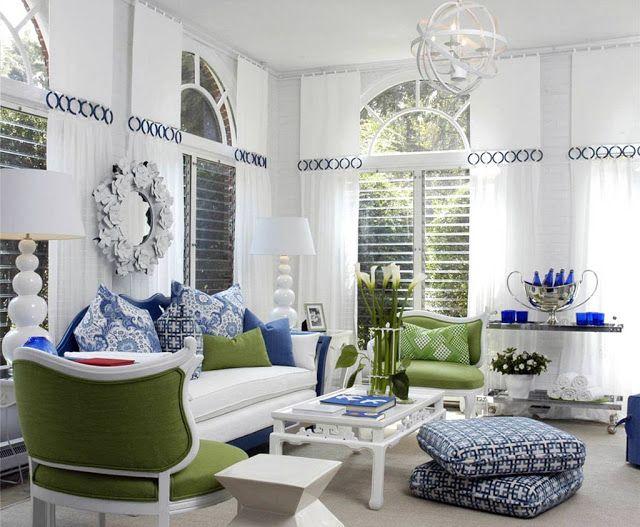 white modern living room idea