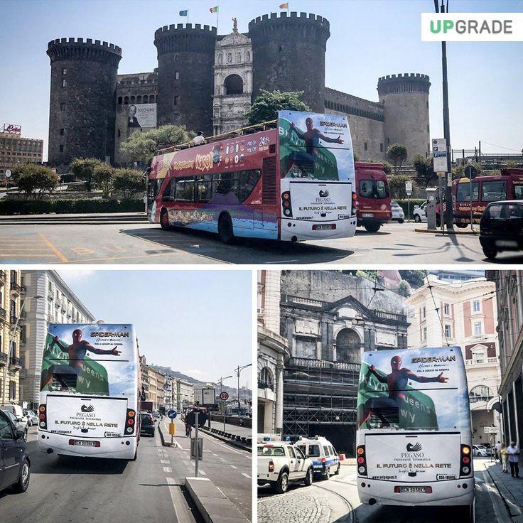 Brand: Pegaso - Università Telematica ADV: Bus Itinerante - Napoli #pegaso #universitàtelematica #napoli #italia #università #adv #advertising #pubblicitá #pubblicitàinmovimento #bus www.upgrademedia.it
