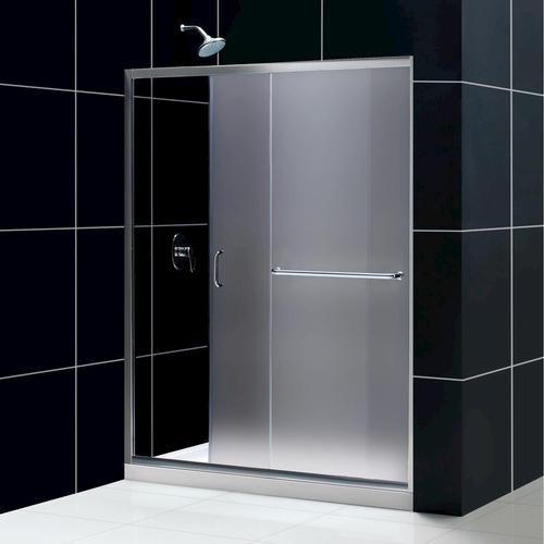 DreamLine Infinity Z Shower Door  30  x 60  Base and Backwall Kit. 56 best Showers images on Pinterest