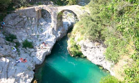 Wild swimming on France's Cote d'Azur  The best swimming on the Côte d'Azur is not in the Mediterranean, but in turquoise pools and waterfalls in the mountains above. Daniel Start chooses the best spots from his new guidebook, Wild Swimming in France