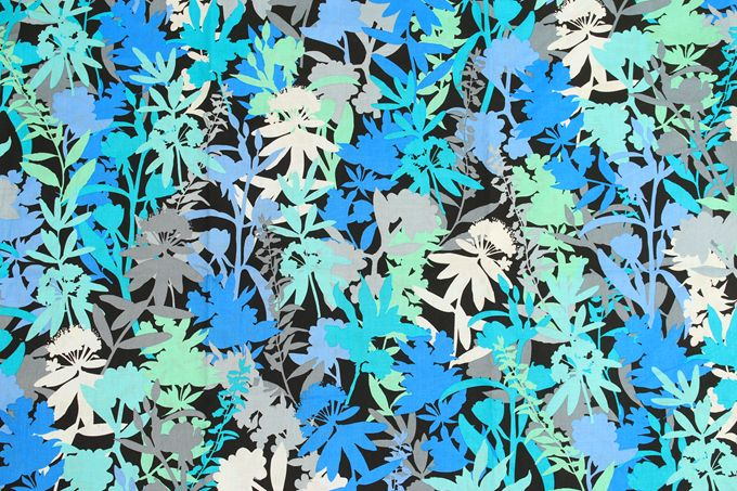NEW VB Camofloral flowers cotton fabric patterns by the meter