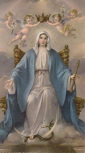 Queen of Heaven Jesus Christ