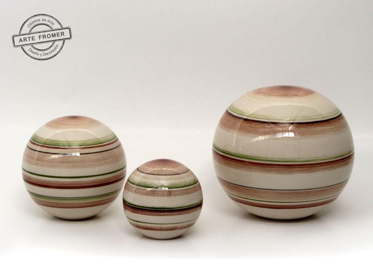 Esferas de ceramica decoracion buscar con google - Ceramica decoracion ...