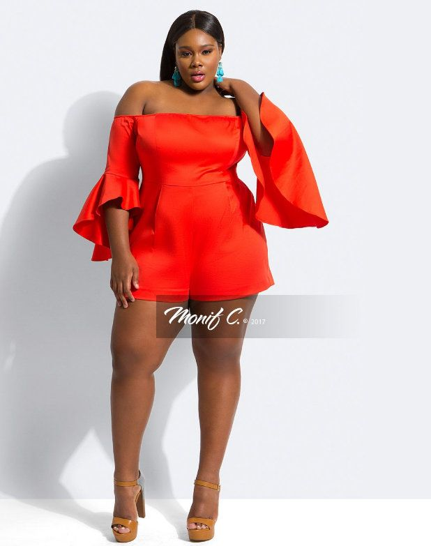 17 Plus Size Rompers to Play in For Spring