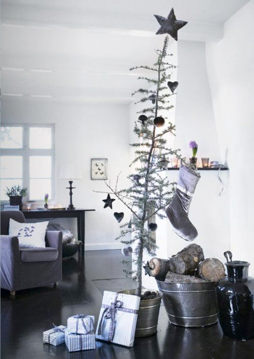Scandinavian styled boho Christmas
