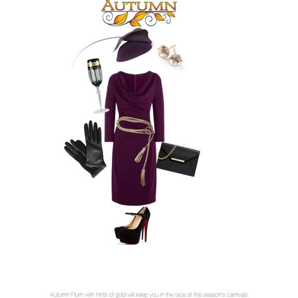 Race ahead this Autumn/ Winter Carnival in classics with shades of plum and gold accents