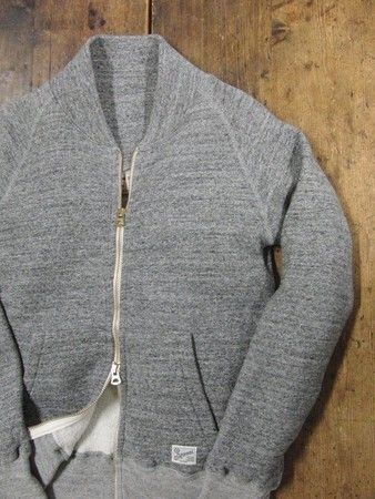 kepani grey land zip up