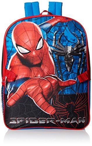 Marvel Boys' Spiderman Backpack with Lunch - http://handbags.kindle-free-books.com/marvel-boys-spiderman-backpack-with-lunch/