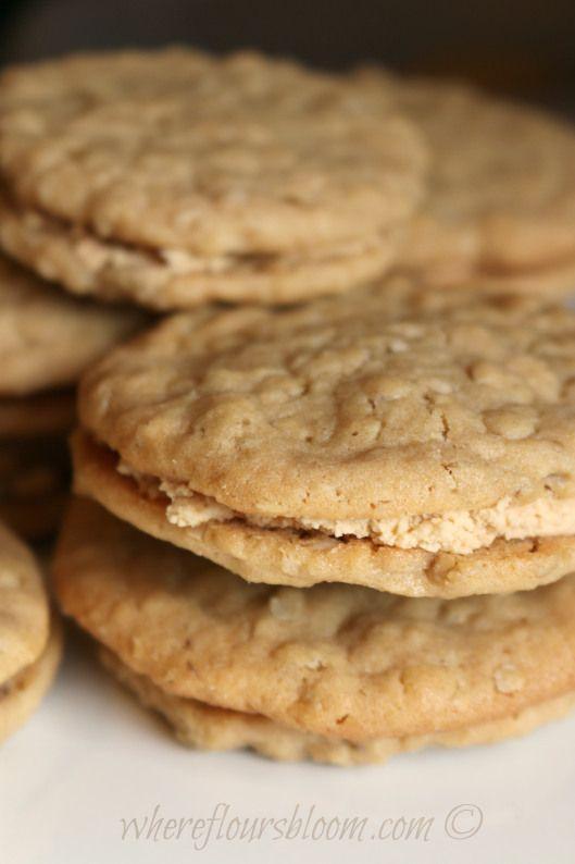 Oatmeal Peanut Butter Cookies | Cookies, Brownies & Bars | Pinterest
