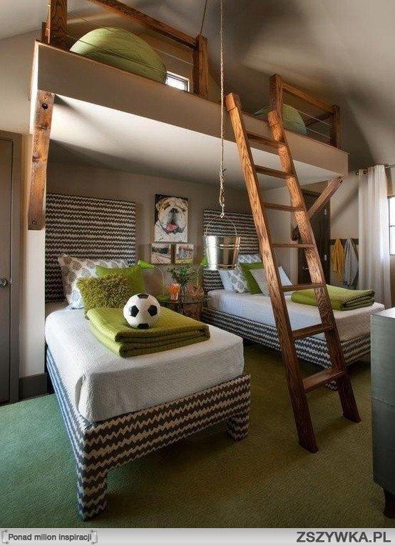 Pomysłowy pokój dla dzieci