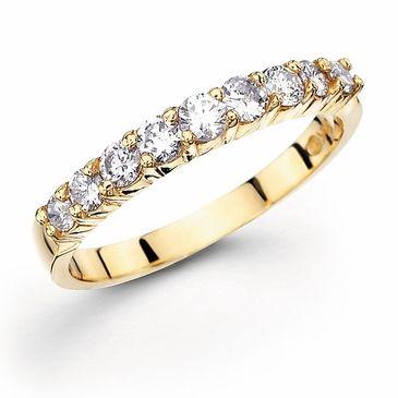 14k Gold Forever Diamond Wedding Band 1 2 Ct