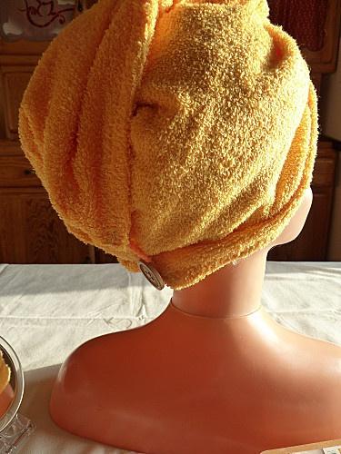 coiffe sortie de bain (tuto)
