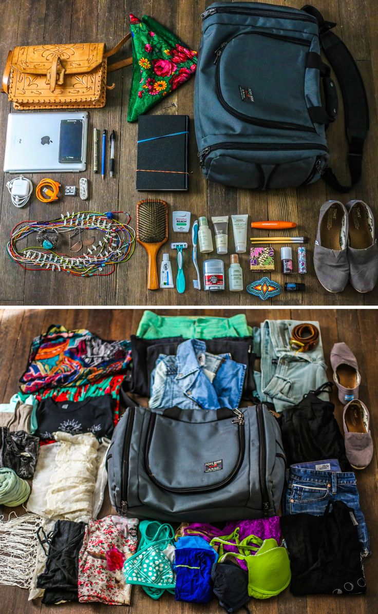 Southwest Road Trip Packing List!