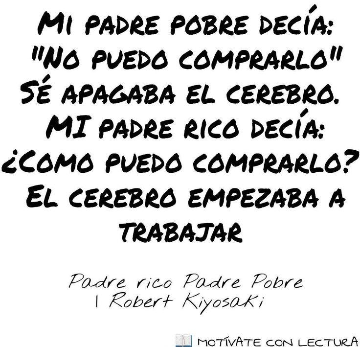 LIBRO: Padre Rico Padre Pobre  AUTOR: Robert Kiyosaki  GÉNERO:Autoayuda desarrollo personal Educación financiera  #book #libro #libros #motivation #humildad #motivacion #salud #health #happiness #felicidad #dinero #money #emprendimiento#sonrie #lectura #vida #vivelavida #exito #quotes #quote#enterpreneur #motivateconlectura#livinglife#desarrollopersonal#psicologia #educacionfinanciera #padrericopadrepobre #robertkiyosaki by motivateconlectura