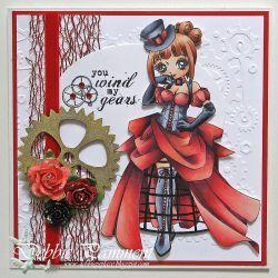 Annabelle Digi Stamp in Digital images