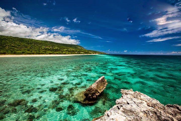 Praia de Baucau, Timor-Leste
