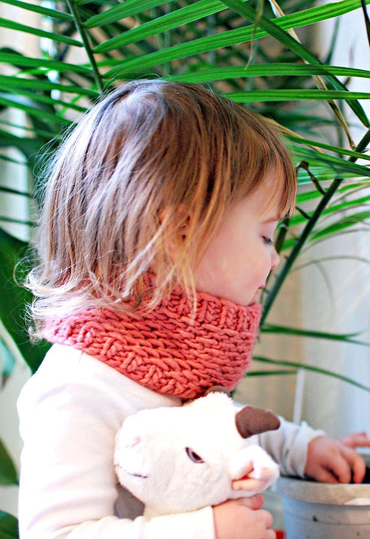 Toddler Honey Cowl | knittedbliss.com                                                                                                                                                                                 More