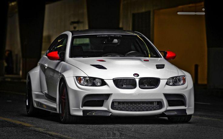 Modified BMW M-3 HD.