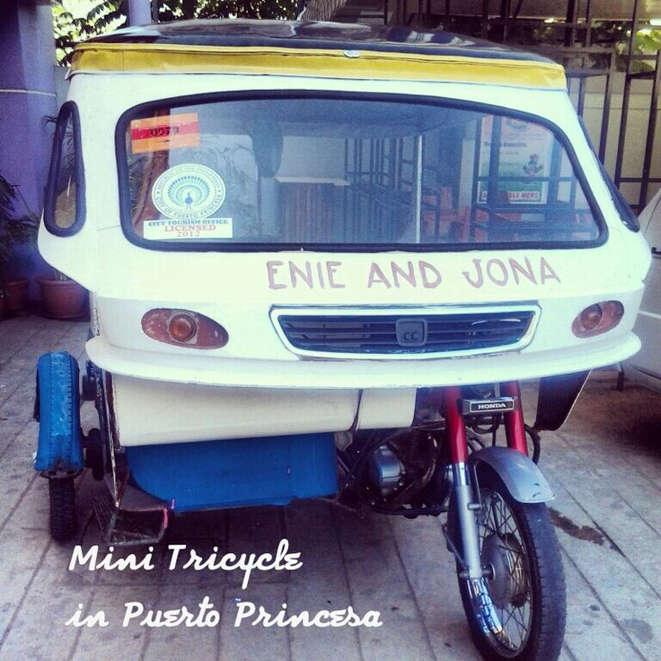 Mini tricycle Puerto Princesa Tricycle, Mini, Suv car