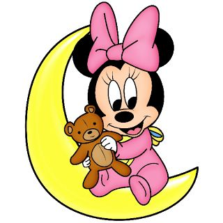 Disney Baby Minnie Mouse Cartoon Png Clip Art Images On A