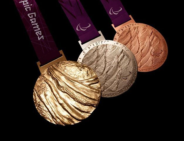 Rio 2016 Olympic medals. Want.