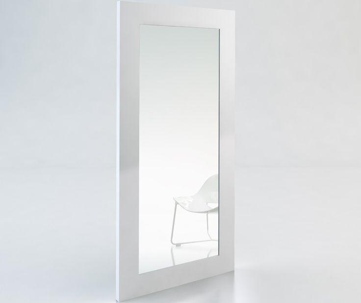 Dawn Full-Length Mirror WHITE