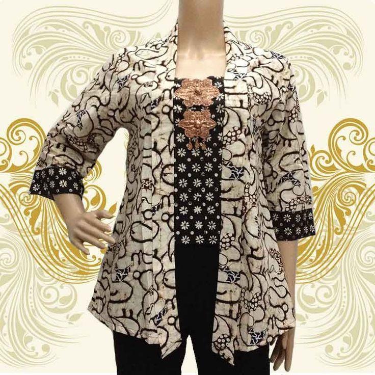 17 best Model Baju Batik images on Pinterest  Modern Contoh