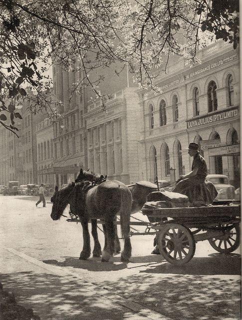 Queen Street, Brisbane c 1949