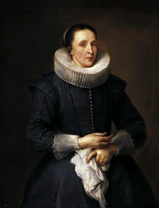 Антонис ван Дейк - Женский портрет. ок1618. 105х82. М Лихтенштейн. Музей Лихтенштейн (Вена)
