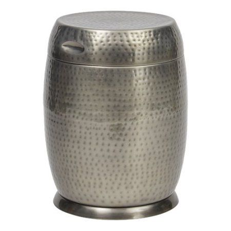 Bombay Outdoors Silver Madras Drum Side Table