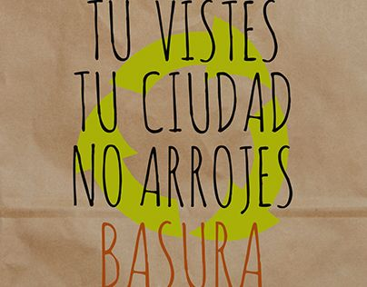 "Check out new work on my @Behance portfolio: ""No arrojes Basura (cuida tu ciudad)"" http://be.net/gallery/33989426/No-arrojes-Basura-(cuida-tu-ciudad)"