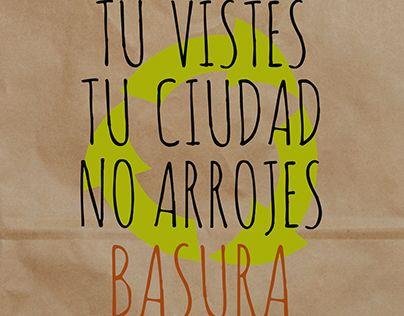 "Check out new work on my @Behance portfolio: ""No arrojes Basura (cuida tu ciudad)"" http://be.net/gallery/33989426/No-arrojes-Basura-(cuida-tu-ciudad)"