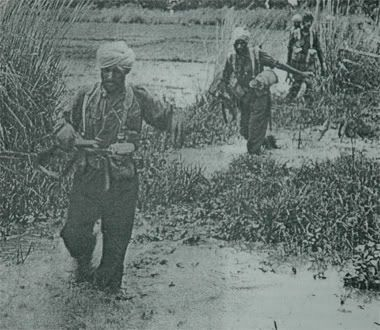 sikh troops. burma