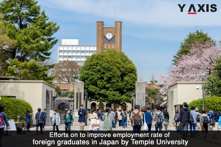 #TempleUniversity, #Japan Campus has launched three measures to increase the #Employment levels of #ForeignGraduates in Japan to 50 percent by 2020. #JapanWorkVisa #YAxis