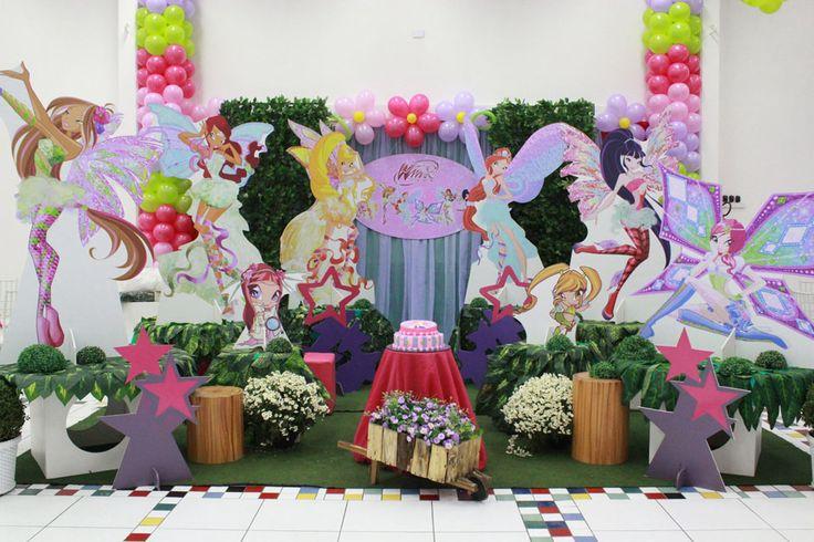 Winx - Muita Festa Decorações