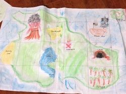Children can make their own maps for BeeBots